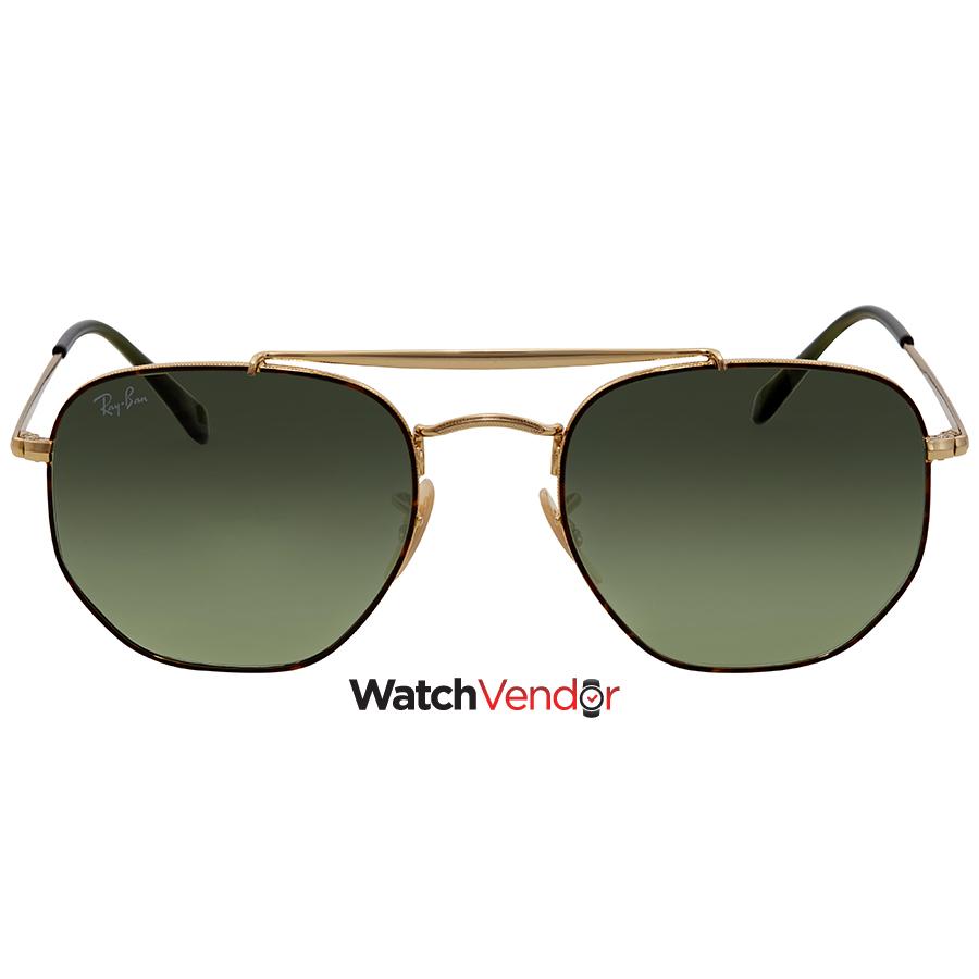 Ray Ban Green Square Sunglasses RB3648 91034M 54 - image 1 de 3