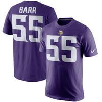 b88e552b7 Product Image Anthony Barr Minnesota Vikings Nike Player Pride Name    Number T-Shirt - Purple