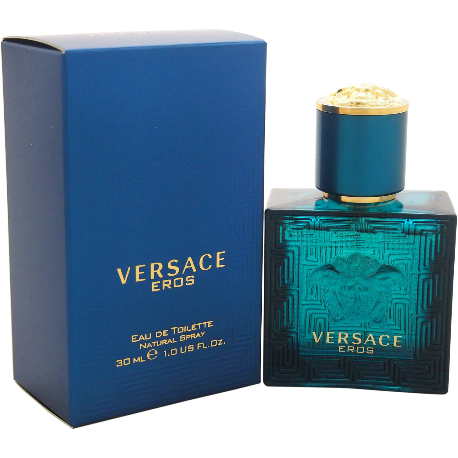 Versace Eros for Men Eau de Toilette, 1 oz