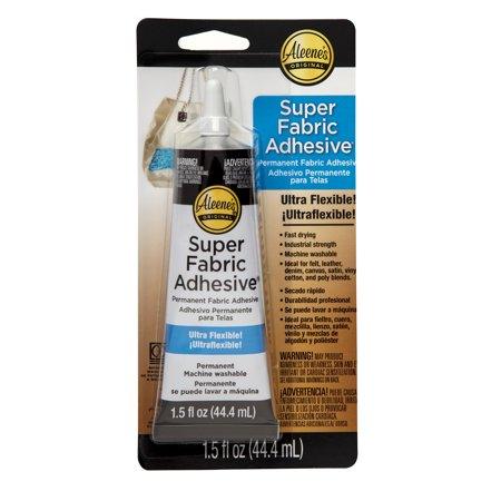 Aleene's Industrial Strength Super Fabric Adhesive, 1 Each, 1.5 Fl. Oz.