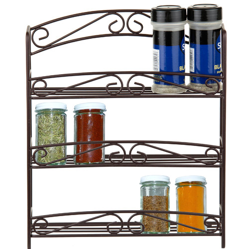 Sweet Home Collection Classic Scroll Spice Rack by Sweet Home Collection