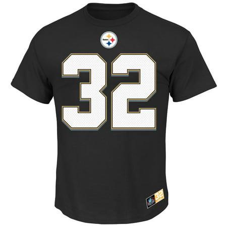 Franco Harris Pittsburgh Steelers Majestic NFL Eligible Receiver II HOF