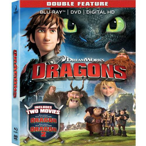 How To Dragon Your Dragon / How To Train Your Dragon 2 (Blu-ray) 17709190