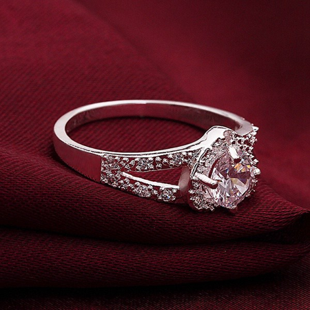 F.S. Love-Struck Double Band Ring - image 5 of 6