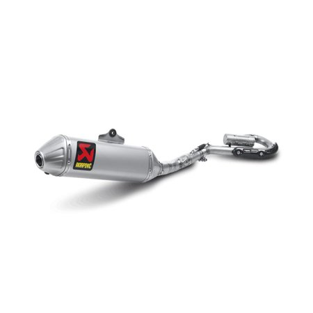 Akrapovic S-H2MR7-BNTA Racing Line Full System Exhaust - Titanium Muffler with Spark Arrestor