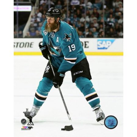 Joe Thornton 2016 Stanley Cup Playoffs Action Photo Print