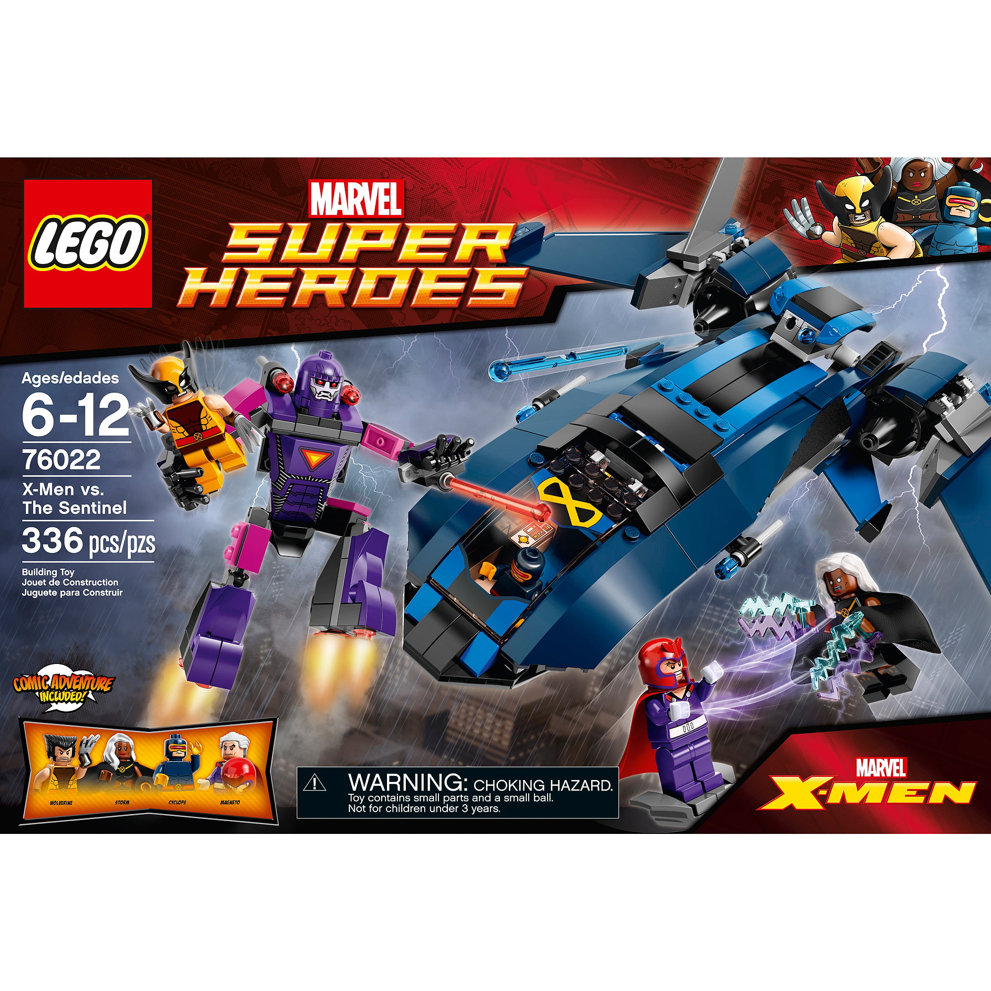 Lego Super Heroes X-Men vs. The Sentinel by Lego