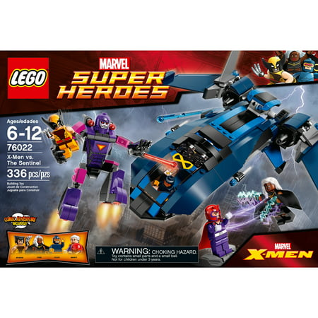 Lego Super Heroes X Men Vs The Sentinel Walmart Com