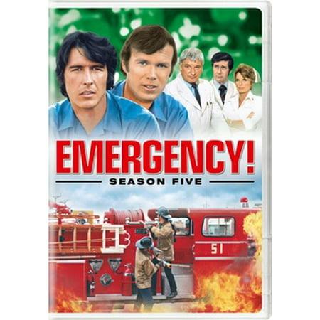Emergency! Season Five (DVD) (Emergency Dvd)