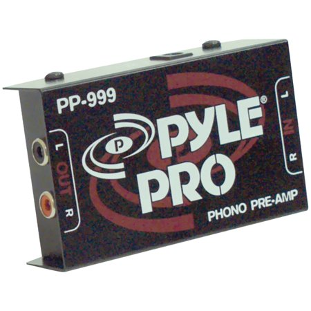 Audio Preamplifier - Pyle Pro PP999 Phono Turntable Preamp