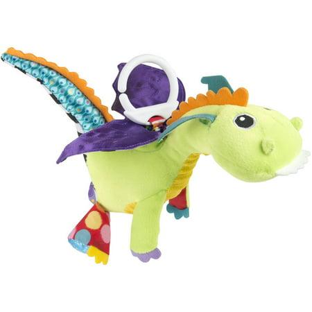 Lamaze Clip & Go Flip Flap Dragon, Baby Car Seat Toy ()