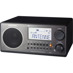 SANGEAN WR-2 BLACK TABLE TOP RADIO
