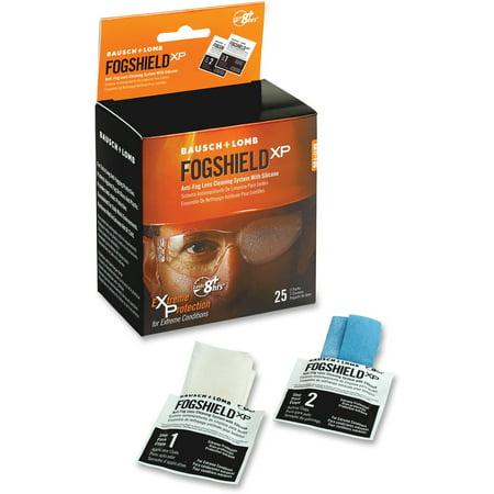 Bausch & Lomb, BAL8577PMT, Anti-fog Lens Cleaning Tissues, 25 / Box, White