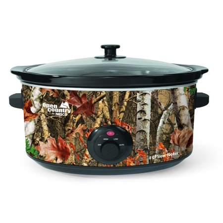 Open Country 8-Quart Slow Cooker, Camouflage ()