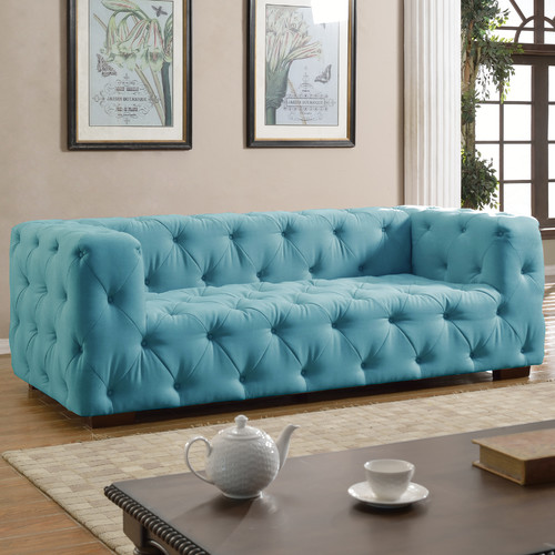Madison Home USA Tufted Large Sofa