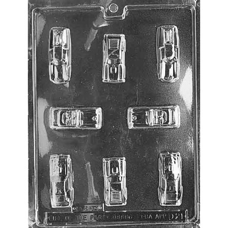 Mini Cars Chocolate Mold - D021 - Includes Melting & Chocolate Molding - Chocolate Cars