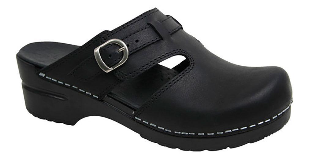 Sanita Women's Kiley Black Clogs 35 M EU 4.5-5 M