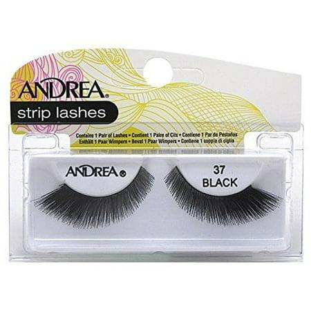 Andrea X Factor Halloween (Andrea Strip Lashes Style, Black [37] 1)