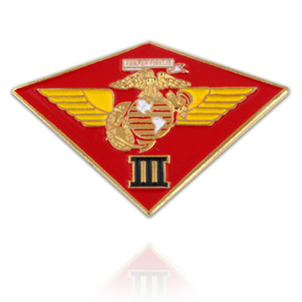 U.S. Marine Corps 003rd MC Wing Pin  - Military Lapel Pin