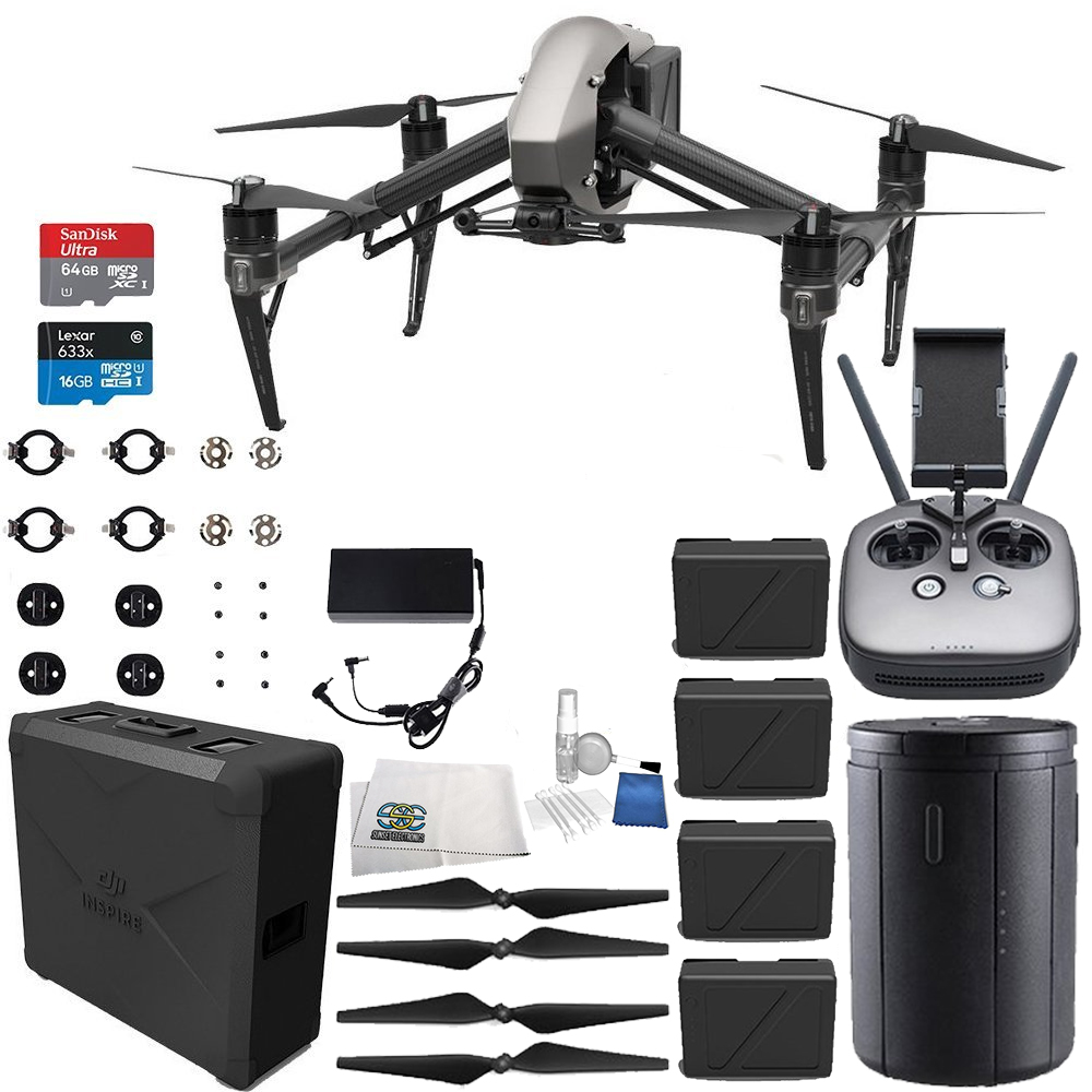 DJI Inspire 2 Quadcopter Ultimate Bundle
