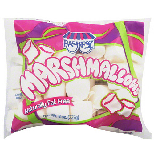 Paskesz Marshmallows, 8 oz, (Pack of 12)