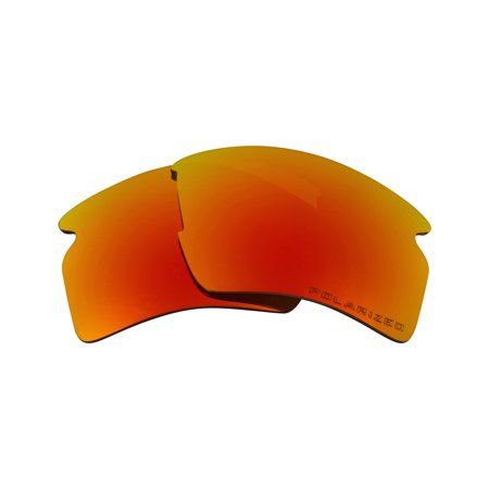 Replacement Lenses Compatible with OAKLEY FLAK 2.0 XL Polarized Red (Cheap Oakley Replacement Lenses)