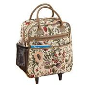 WalterDrake Tapestry Rolling Bag