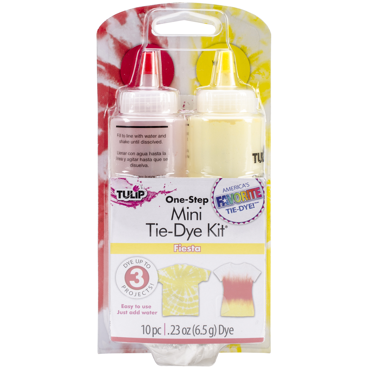 Tulip One-Step Mini Tie-Dye Kit-Fiesta