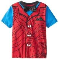 Spiderman Bowtie Red Toddler T-Shirt, 4