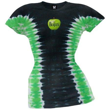 The Beatles - Apple Logo Tie Dye Juniors T-Shirt