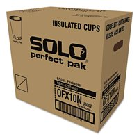 Solo Cup Company Symphony Design Trophy 10 Oz Foam Hot/Cold Drink Cups, (Pack of 300)