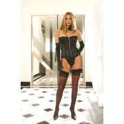 Plus Size Corset With G-String