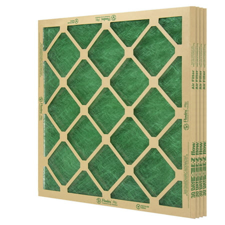 "Flanders (4 Filters), 20"" X 20"" X 1"" Precisionaire Nested Glass Air Filter"