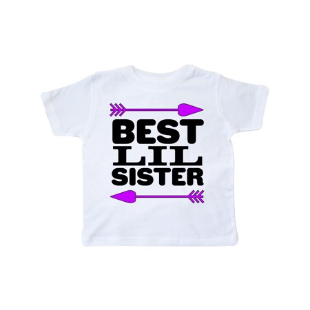 Best Lil Sister Toddler T-Shirt