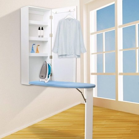 Miraculous In Wall Ironing Board Cabinet With Built In Ironing Board White Cut Into Wall To Install Download Free Architecture Designs Scobabritishbridgeorg