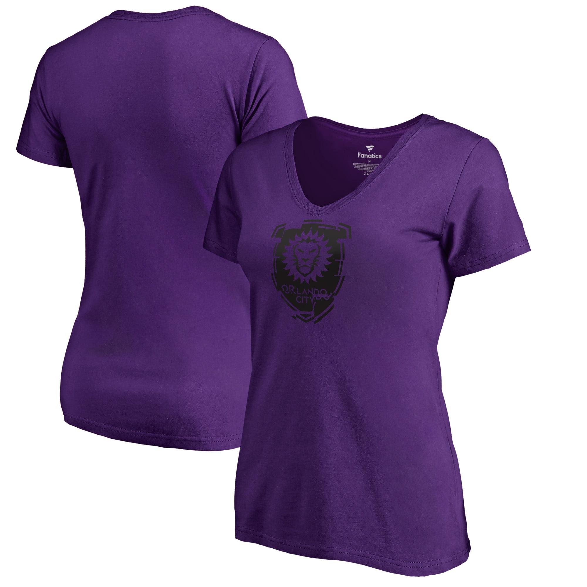 Orlando City SC Fanatics Branded Women's League Trend V-Neck T-Shirt - Purple