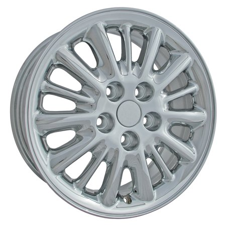 (2001-2004 Chrysler Town & Country OEM  16x6.5 Aluminum Alloy Wheel, Rim Chrome Plated - 2152)