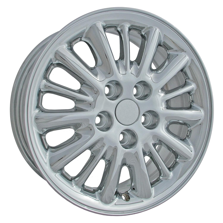 2001-2004 Chrysler Town & Country OEM  16x6.5 Aluminum Alloy Wheel, Rim Chrome Plated - 2152
