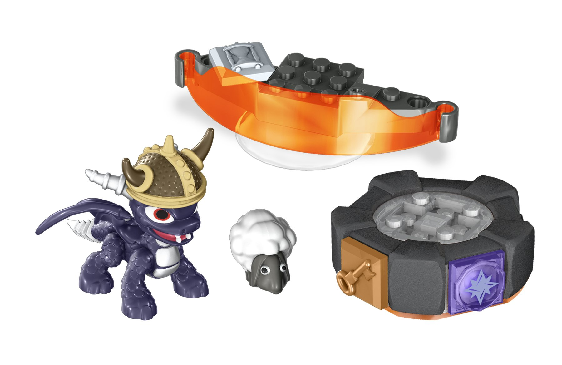 Mega Bloks Skylanders Dark Spyro/'s Battle Portal Brand New in Package!