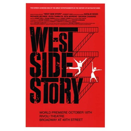 West Side Story 11x17 Broadway Poster (West Side Broadway)