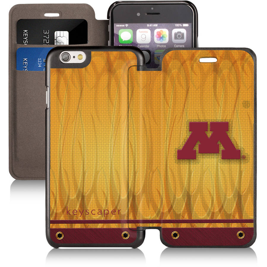 Minnesota Golden Gophers Apple iPhone 6 Wallet Case by Keyscaper