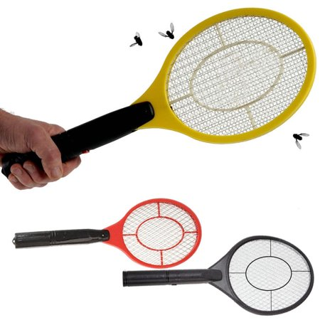 ectric Bug Zapper Battery Powered Racket Assorted Colors (Electronic Handheld Insect Zapper)