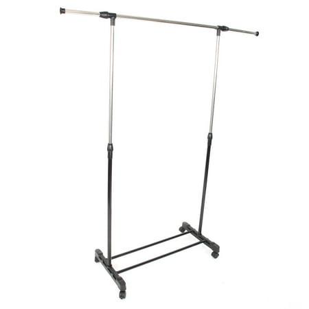 UBesGoo Adjustable Portable Clothes Garment Rack Rolling Closet Wardrobe Organizer