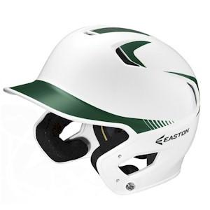 Easton Z5 Two Tone Jr Batting Helmet - White/Green - (6-3/8in to 7-1/8in) Small-Medium (Jr)