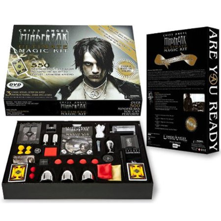Ultimate Magic Kit Includes Props for Performing More Than 550 Magic Trick Black ()