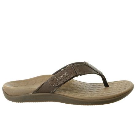 5665ff951fda Vionic - Vionic Orthaheel Technology Ryder Thong Flip Flop Sandal Shoe -  Mens - Walmart.com