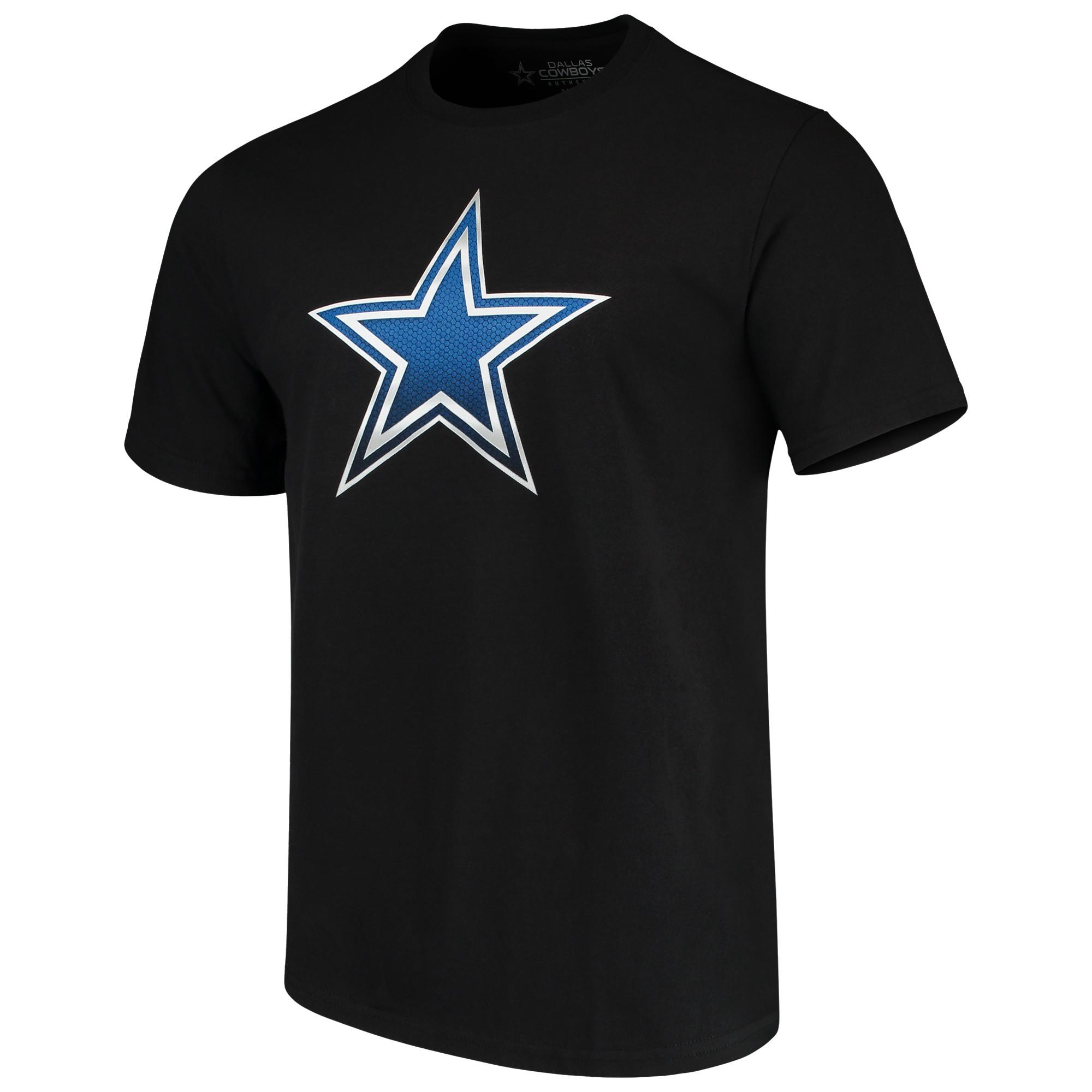 Men's Black Dallas Cowboys Keen Star T-Shirt