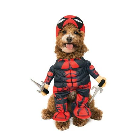 Deadpool Pet Halloween Costume Walmart Com