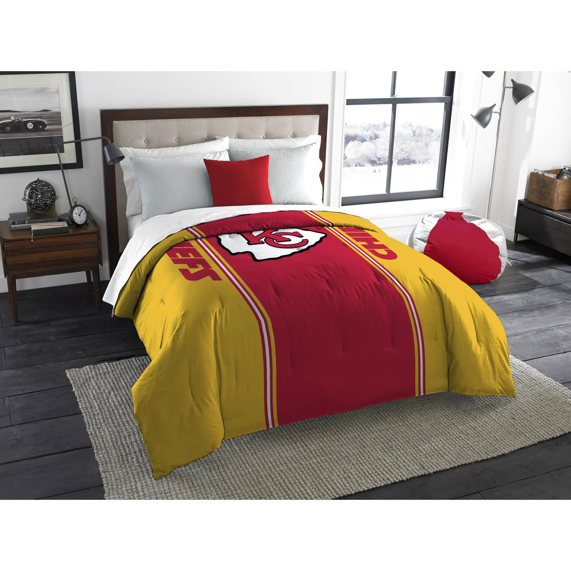 "NFL Kansas City Chiefs ""Mascot"" Twin or Full Bedding Comforter, 1 Each"