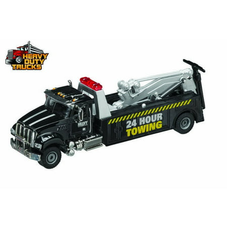 Heavy Duty Tow Truck, Black - Daron GW9180 - 1/50 Scale Diecast Model Toy Car (Heavy Duty Tow Trucks)